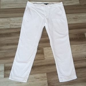 Tommy Hilfiger Cropped White Capri Pants